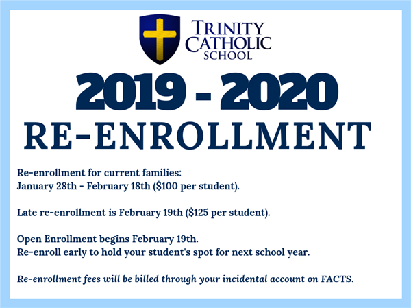 Re-Enrollment 2019
